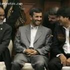 Haitian President Rene Preval And Iran President Mahmoud Ahmadinejad