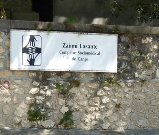 Zanmi Lasante, Hospital in Cange