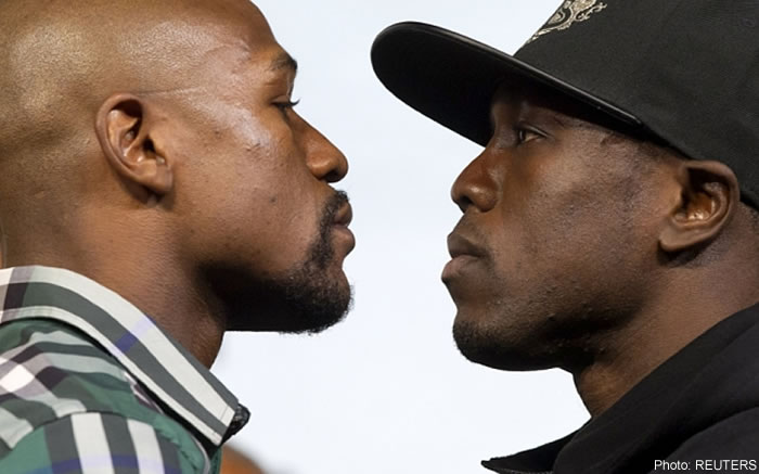 Floyd Mayweather Jr and Andre Berto, Head-to-head