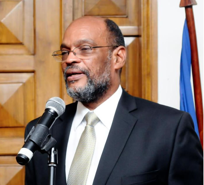 Ariel Henry (INITE), new Minister of the Interior