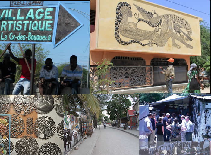 Noailles Village, a thriving metal sculpture industry in Haiti