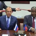 Haiti Russia sign agreement