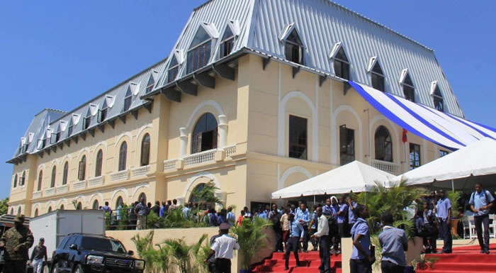 Building Inauguration of Lycee Alexandre Petion