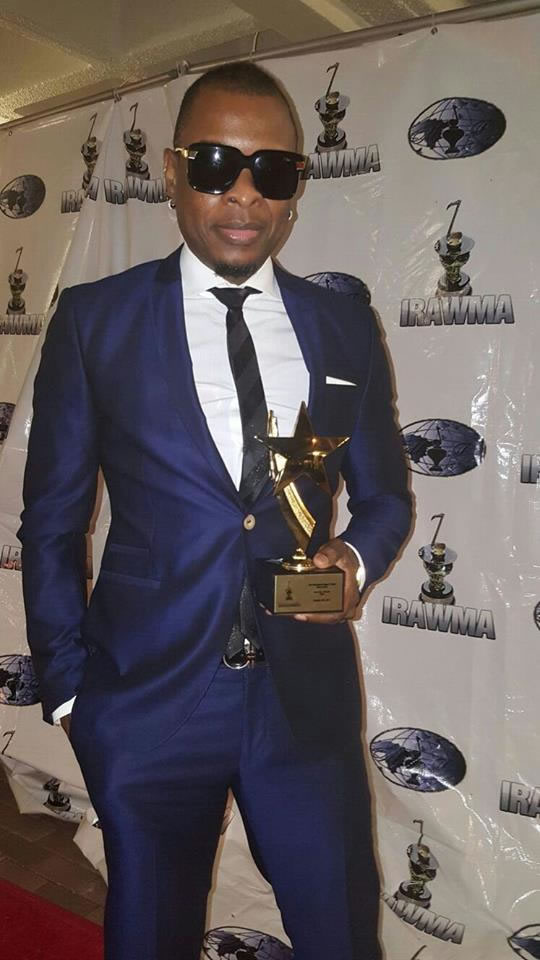 Klass, winner of Best Haitian Entertainer of the Year 2015