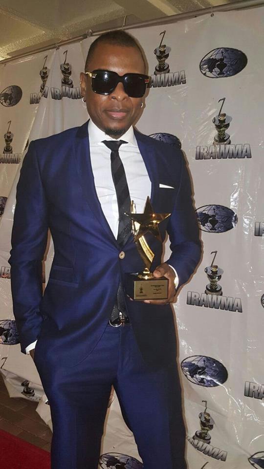 Klass, winner of Best Haitian Entertainer of the Year 2015