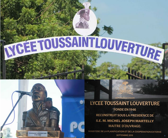 Lycée Toussaint Louverture in Rue Saint-Honore