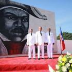 Martelly, Paul commemorating Jean-Jacques Dessalines