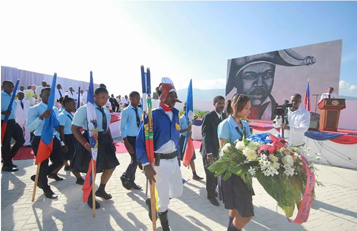 Commemorating the death of Jean-Jacques Dessalines