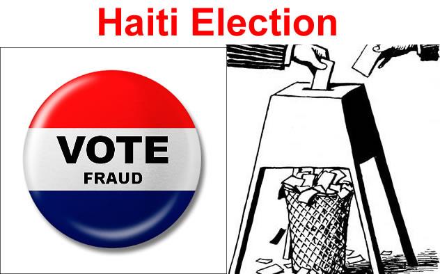 Vote Fraud in Haiti Election
