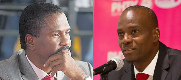 Jude Celestin against Jovenel Moise in Run Off Election