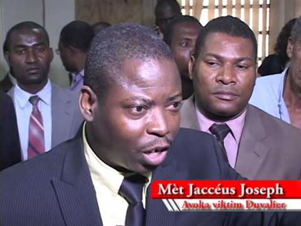 Jacceus Joseph, the CEP Member who did not sign