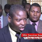 Jaccéus Joseph, the CEP Member who did not sign