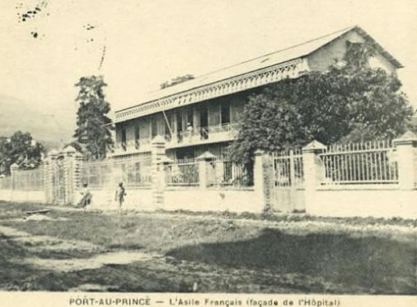 Hospital asile fran ais port au prince haiti for Canape vert haiti