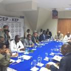 The CEP met with the opposition in Haiti
