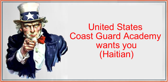 United States Coast Guard Academy wants you (Haitian)