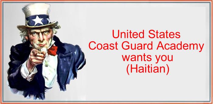 United States Coast Guard Academy wants you (Haitian)