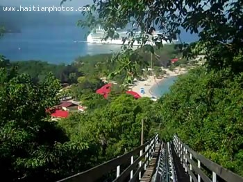 Labadee Dragon's Tail Coaster
