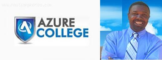 Jhonson Napoleon, president of Azure College