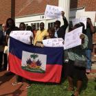Little Haiti residents protest