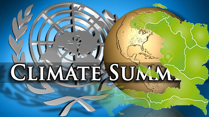 U.N. climate conference and Haiti