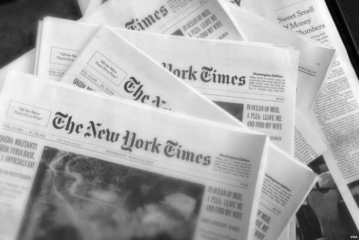 New York Times has spoken on Haiti Election