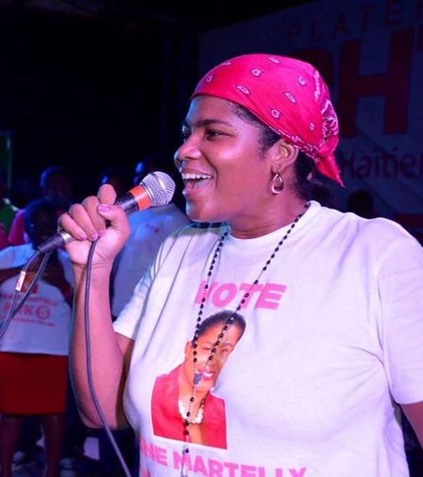 Sabine Martelly, nouvo Sekrete Deta pou jen, Espo ak Action Civic