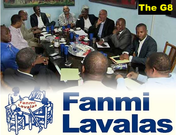 The G8 and Fanmi Lavalas