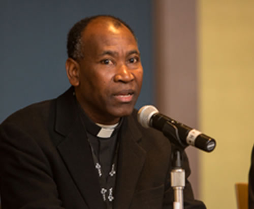 Mgr. Patrick Aris, spokesman for the Episcopal Conference