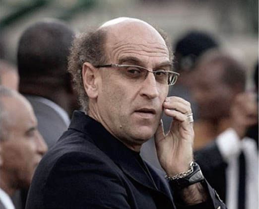 Patrice Neveu, new national football coach of Haiti