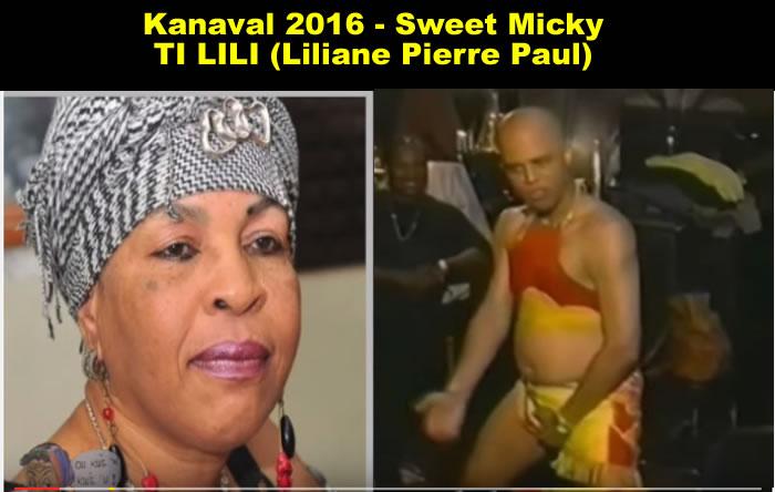Kanaval 2016 Sweet Miky, TI LILI (TI LILIPaul)