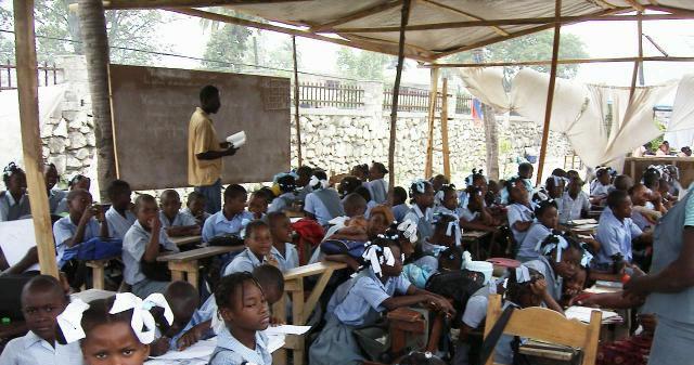 Haiti Classroom condition