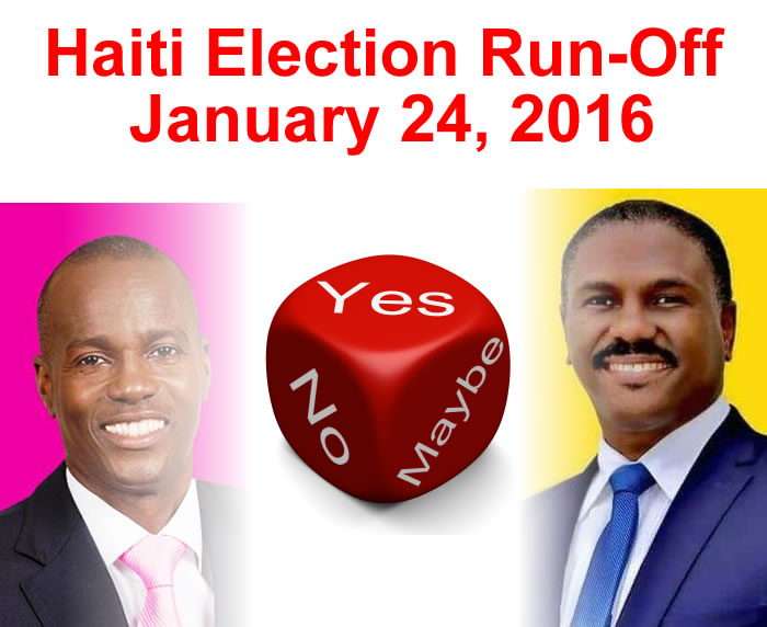 Haiti Election Run-Off, January 24, 2016