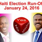 Haiti Election Run-Off January 24