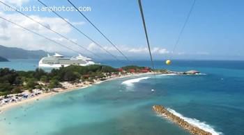 Zip Line In Labadee Haiti
