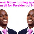 Jovenel Moise running against