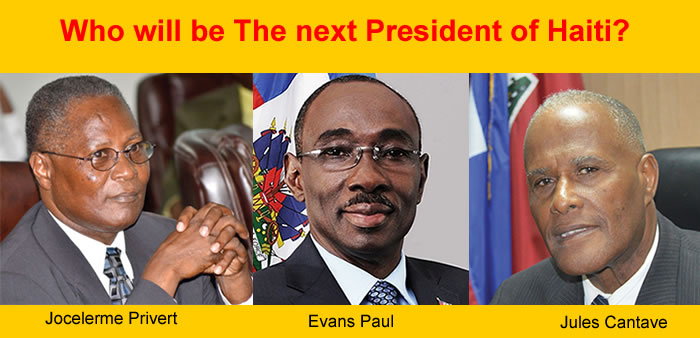 Who will be the next president of Haiti?