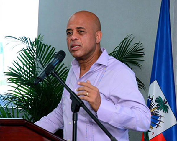 Michel Martelly confirms his departure on February 7th