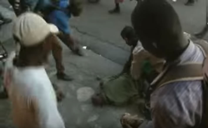 Ex Haitian soldier stoned to death by demonstrators