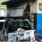 Individuals claimed to be former FADH burned Police Station in Arcahaie