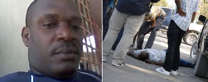 Police officer Placide Jean-Louis killed in Champ de Mars