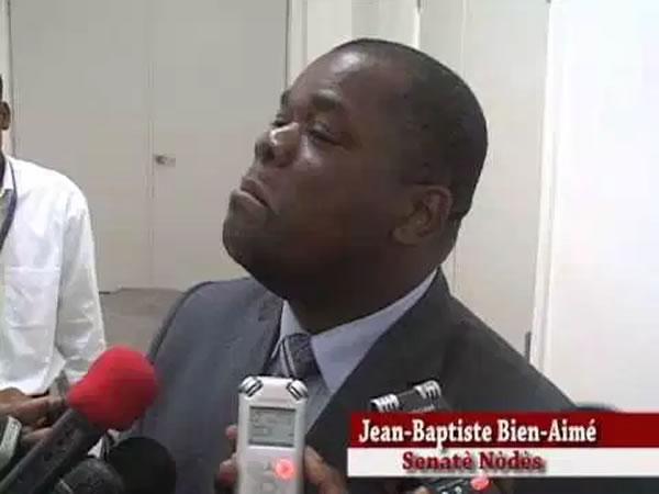 Senator Jean Baptiste Bien-Aime