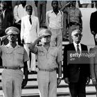 Members of the military-civilian Junta after Jean-Claud Duvalier