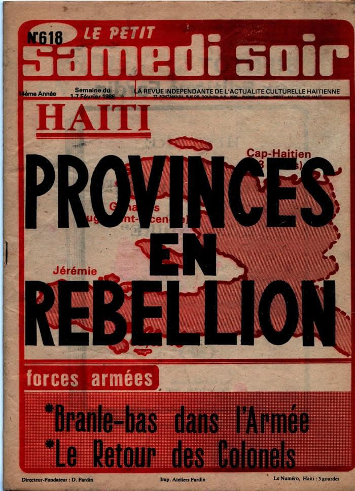 Le Petit Samedi Soir, Haitian newspaper