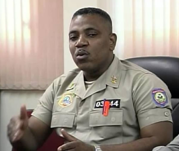 Michel-Ange Gedeon, new Central Director of the Administrative Police