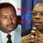 Jean-Claude Duvalier and Jean-Bertrand Aristide