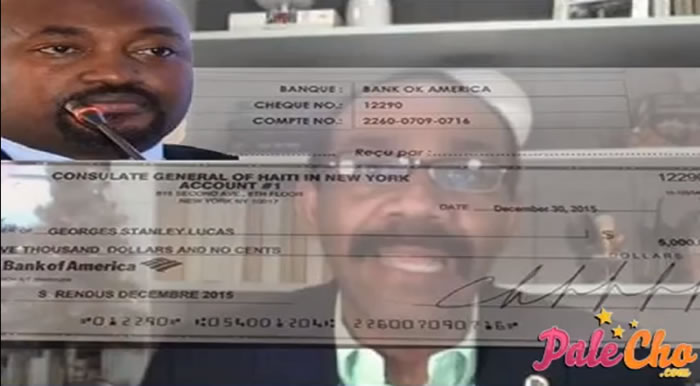 Salary of Stanley Lucas for propaganda job for Martelly government
