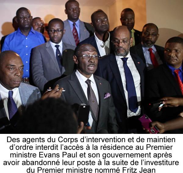 Evans Paul prohibited from entering Prime Minister residence in Bourdon
