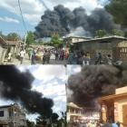 Fire gas Station Hinche 7 dead 30