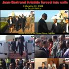 February 29, 2004, Jean-Bertrand Aristide forced into exile