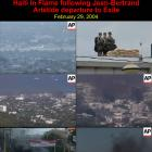 Haiti in Flame following Jean-Bertrand Aristide departure to Exile